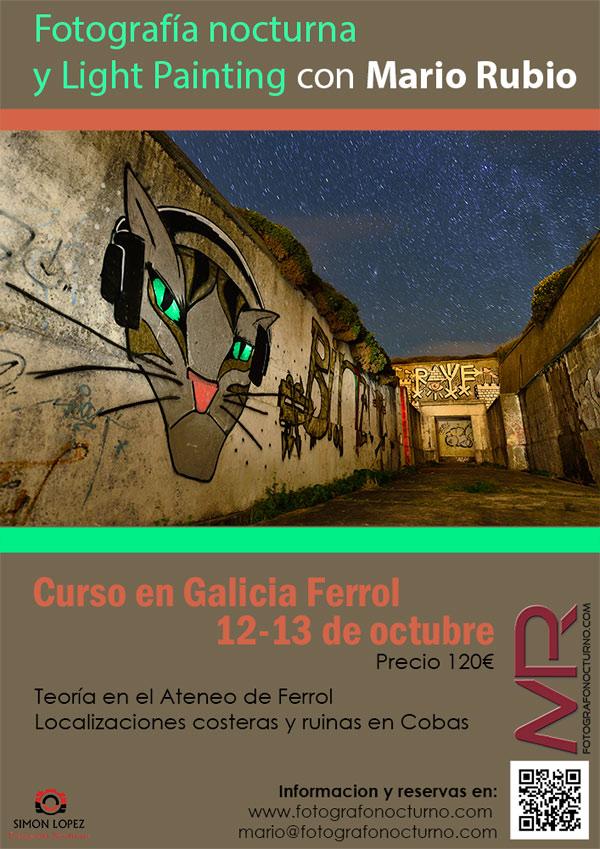 Curso en Ferrol-Galicia 12 de octubre 2