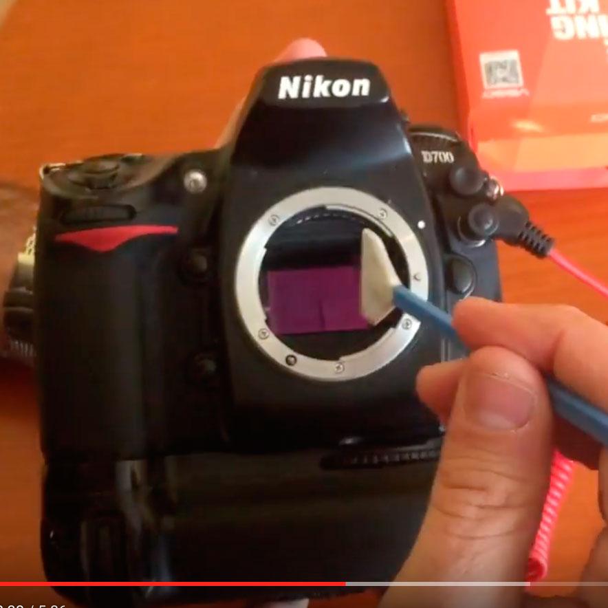 Así limpio el sensor de mi Nikon D700 2