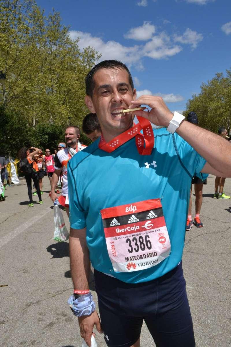 Debut de Ismael Manzanares en la maratón de Madrid 1