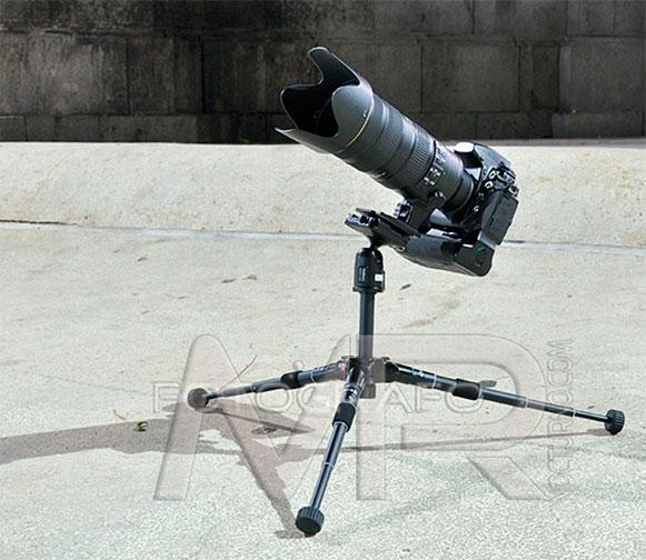 Review Velbon QHD-43D el pequeño gran trípode 15