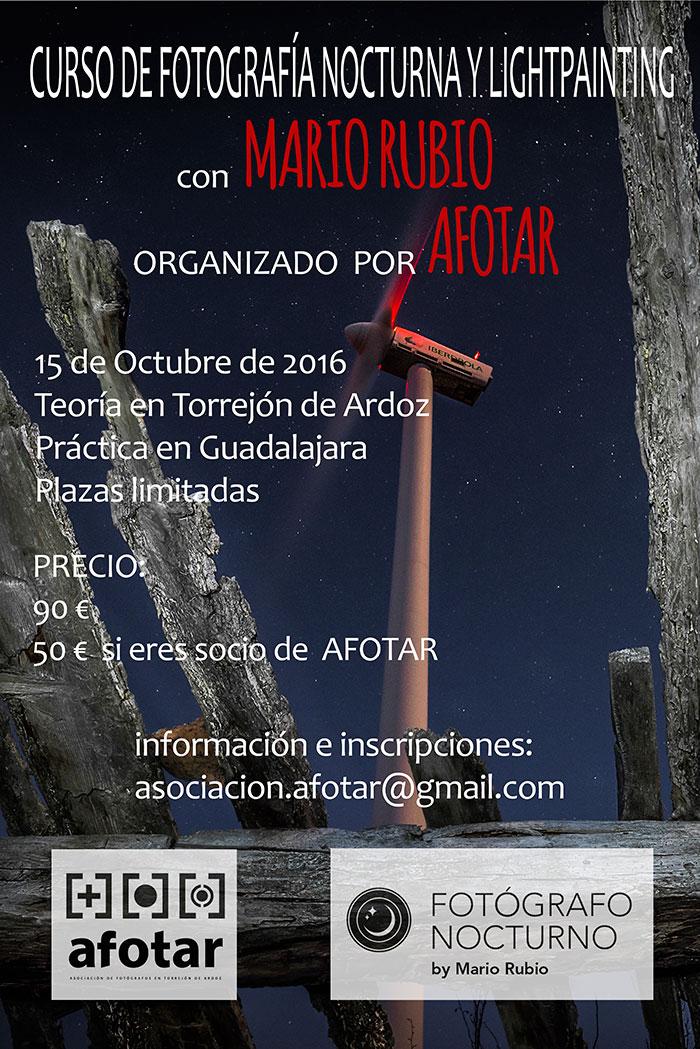 Curso de fotografía nocturna en Torrejón de Ardoz el 15 de octubre 1