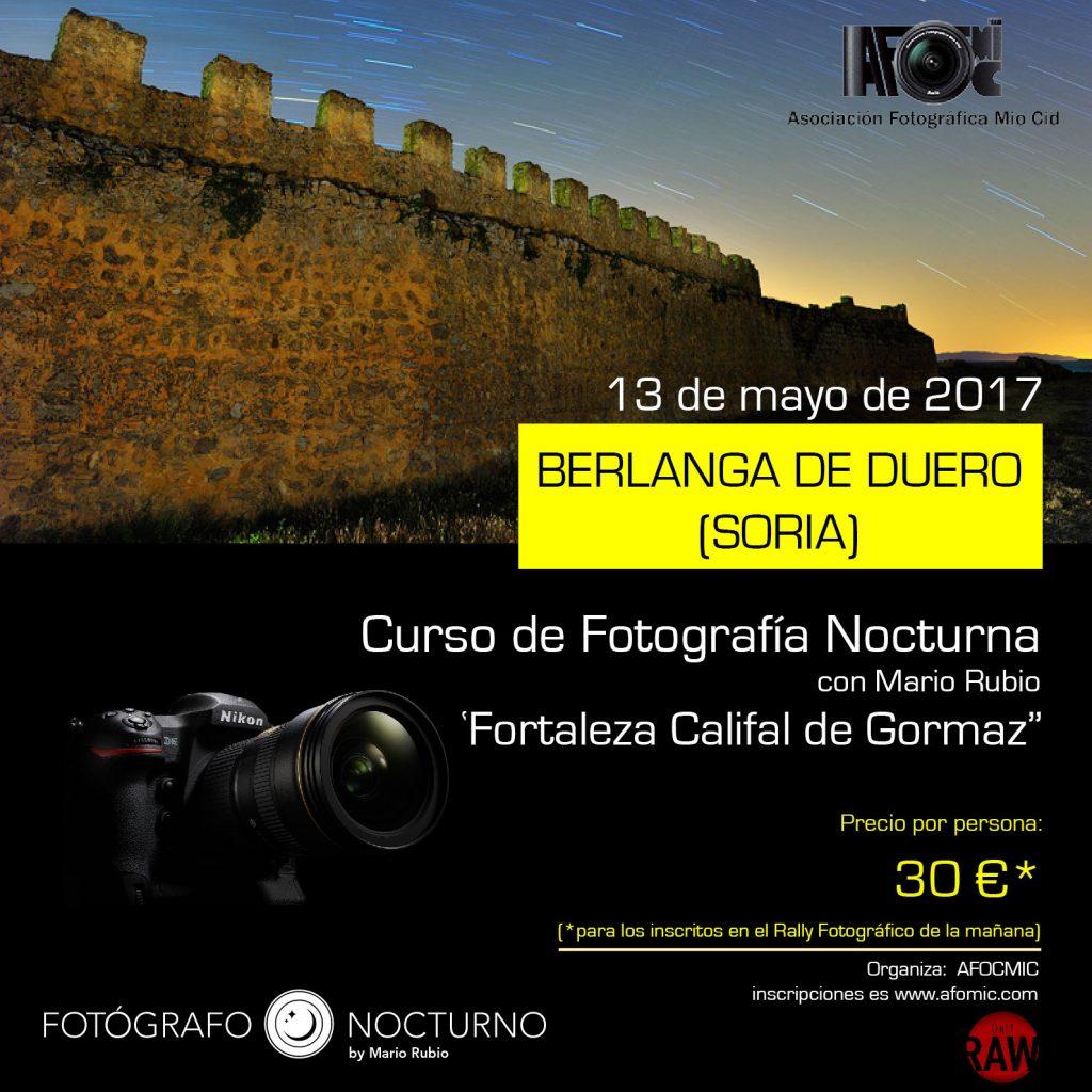 Curso y rally fotográfico en Berlanga de Duero. Soria. 13 de mayo 1