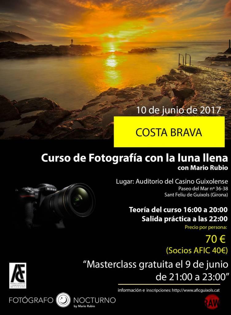 Costa Brava 9 y 10 de junio. Dos actividades. 1