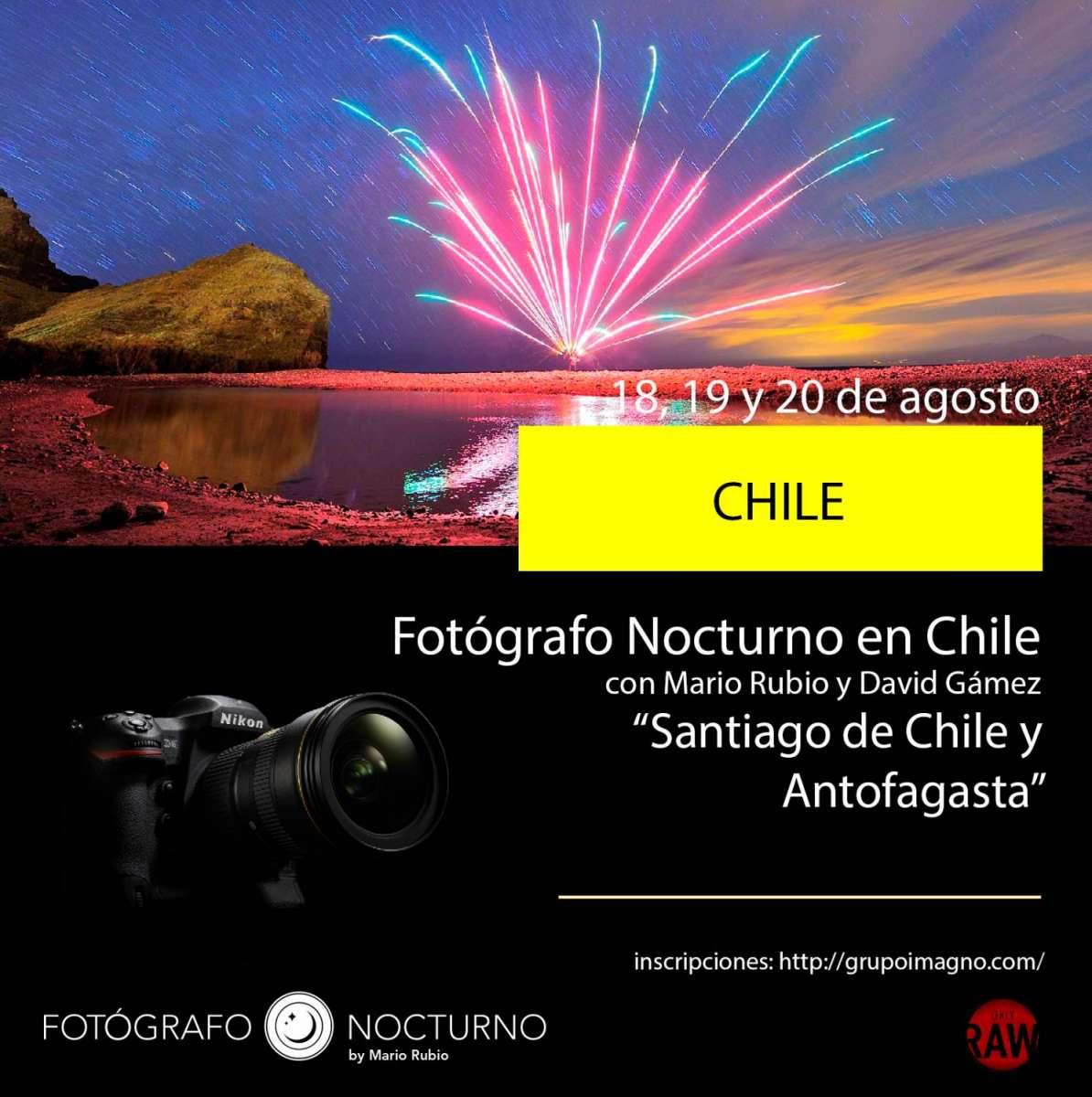 Fotógrafo Nocturno en Chile. 1