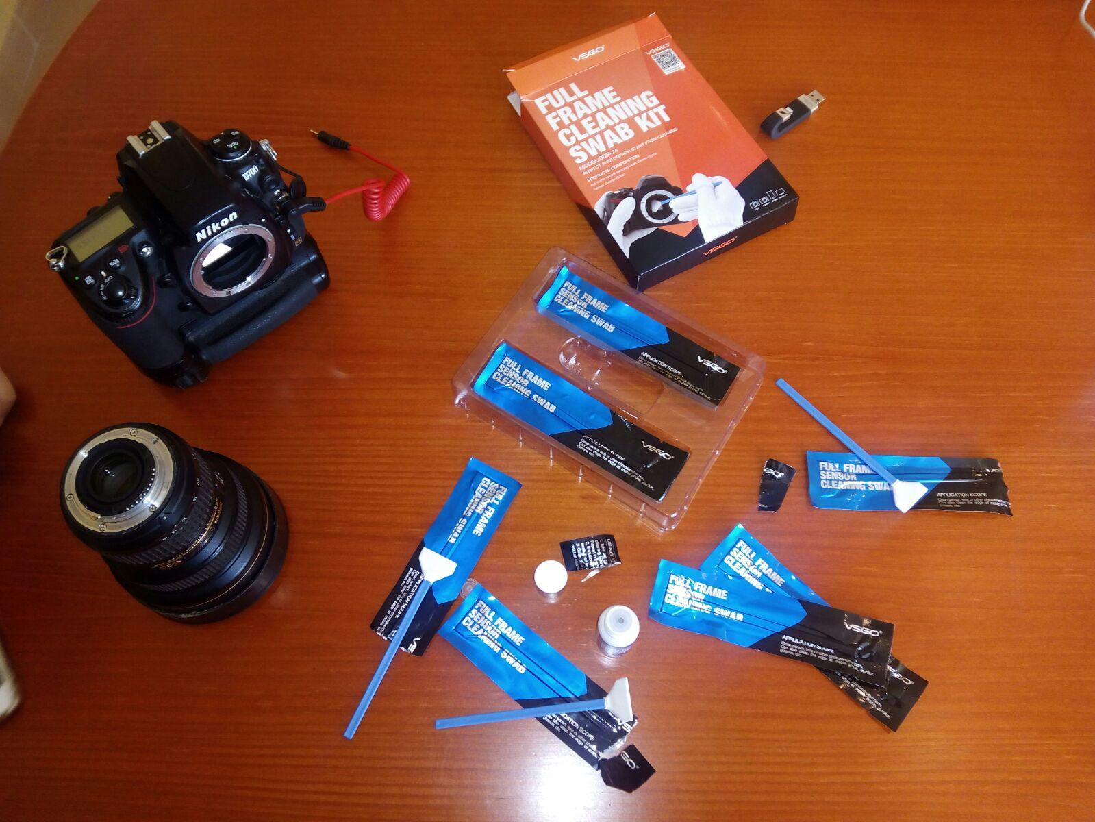 Limpieza del sensor de tu cámara 1