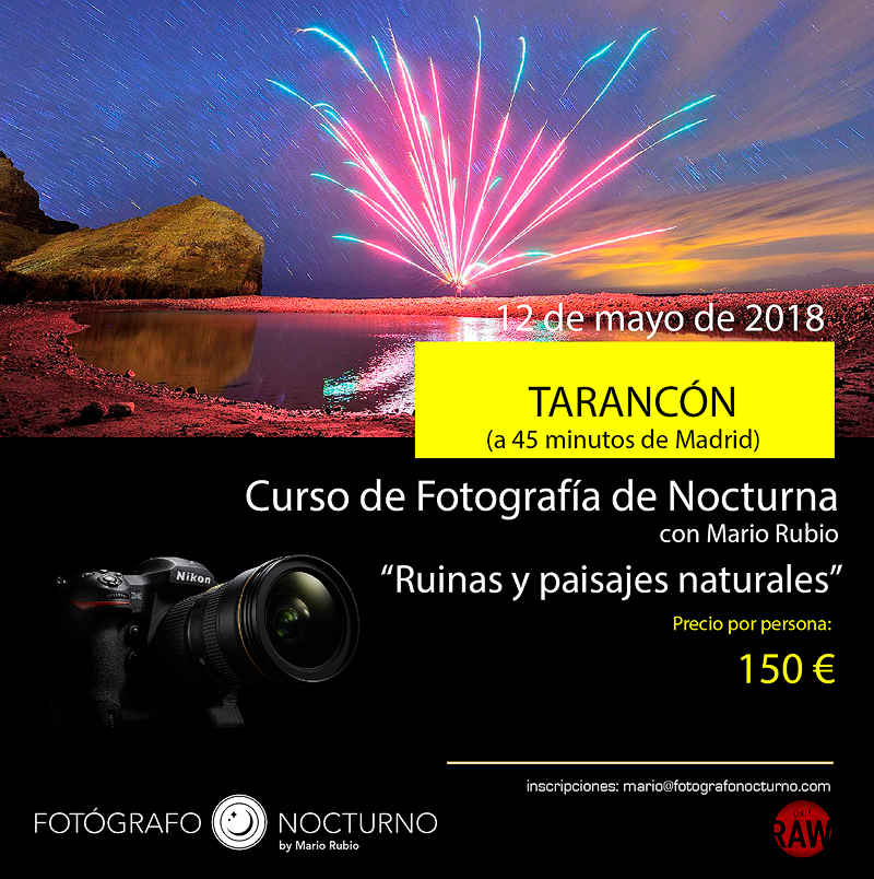 Curso en Tarancón de fotografía nocturna. A 45m de Madrid. 12 de mayo de 2018 35