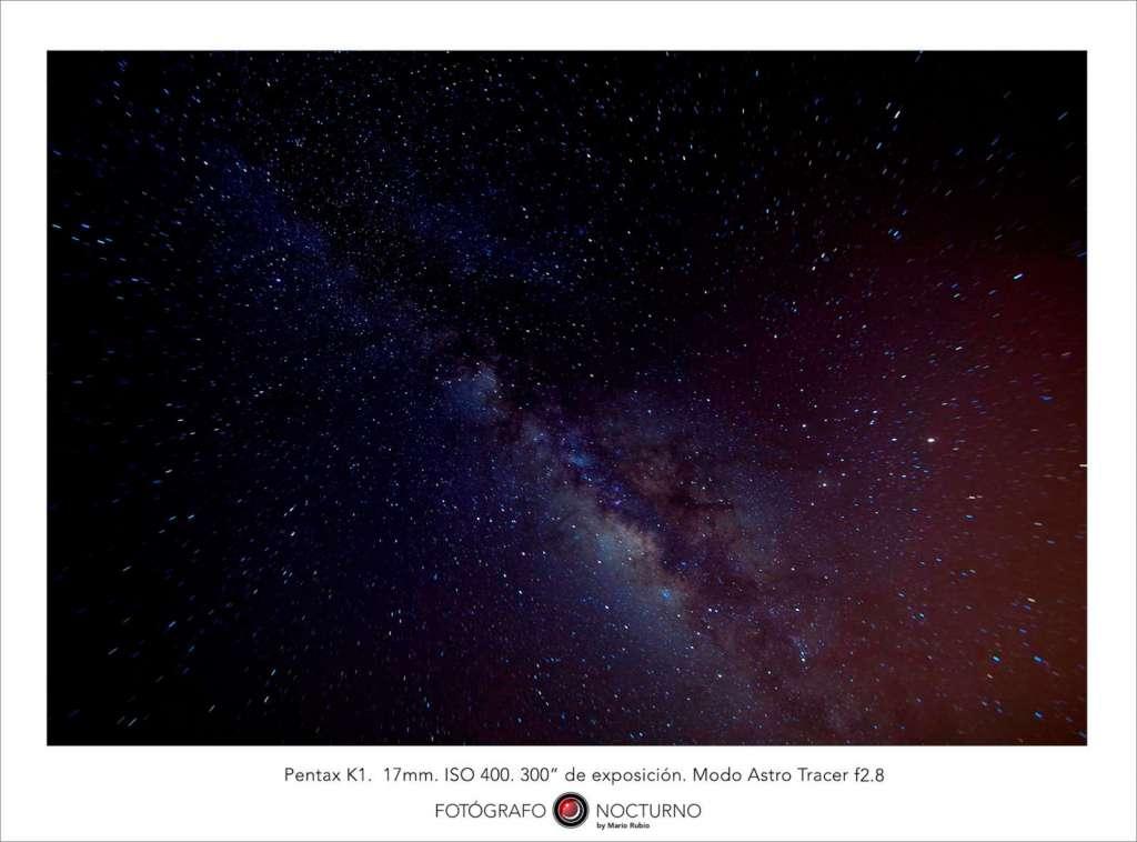 Astrotracer. Otra forma de fotografiar estrellas con la Pentax K-1 2