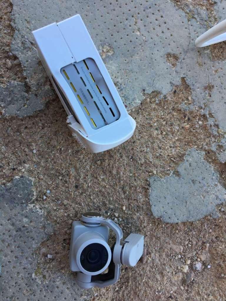 Así murió mi dron y así lo recuperé. Colisión Phantom 4 Pro. 11
