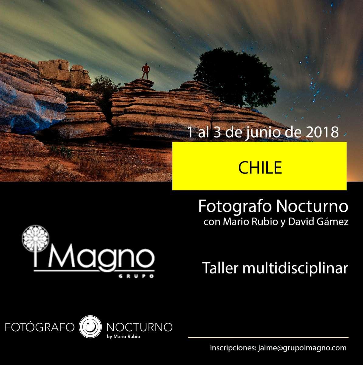 Fotógrafo Nocturno vuelve a Chile, 1 al 3 de junio 2018 9