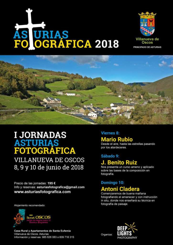 I Jornadas Asturias fotográfica. 8, 9 y 10 de junio de 2018 1