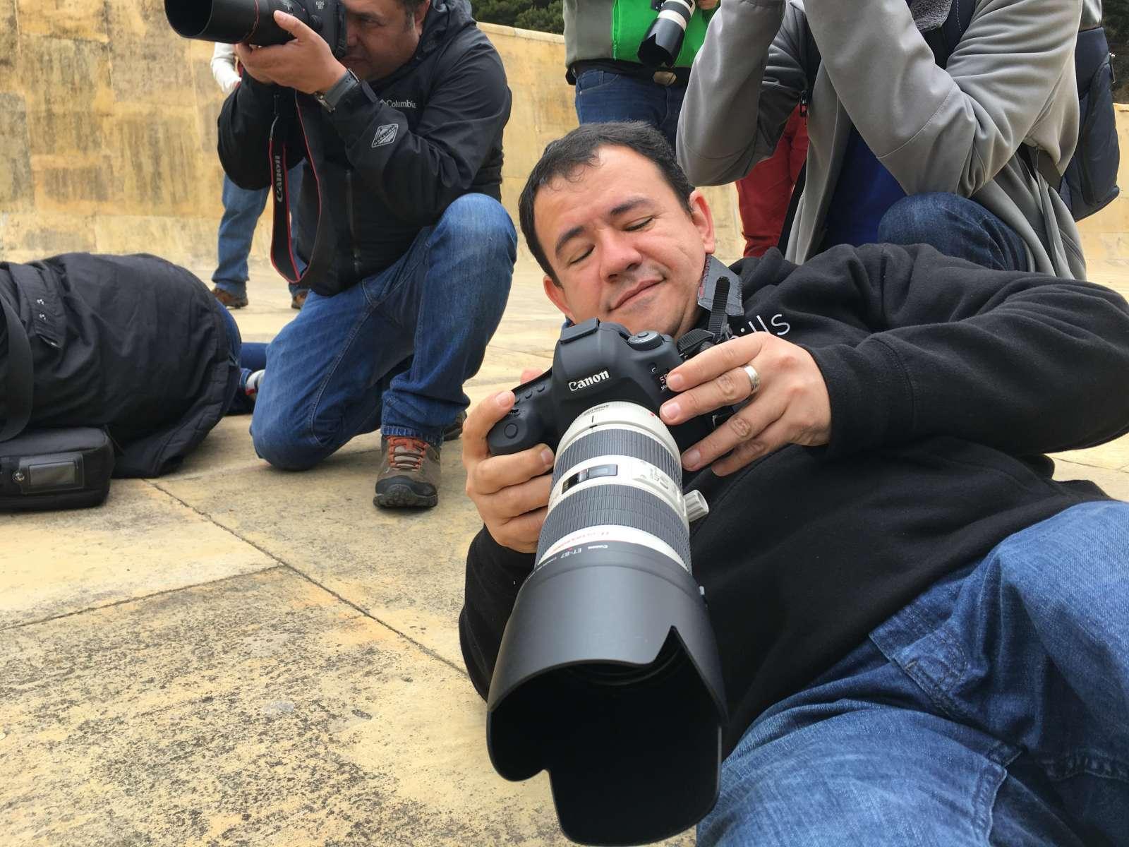 Así fue el taller de fotografía en Colombia 21