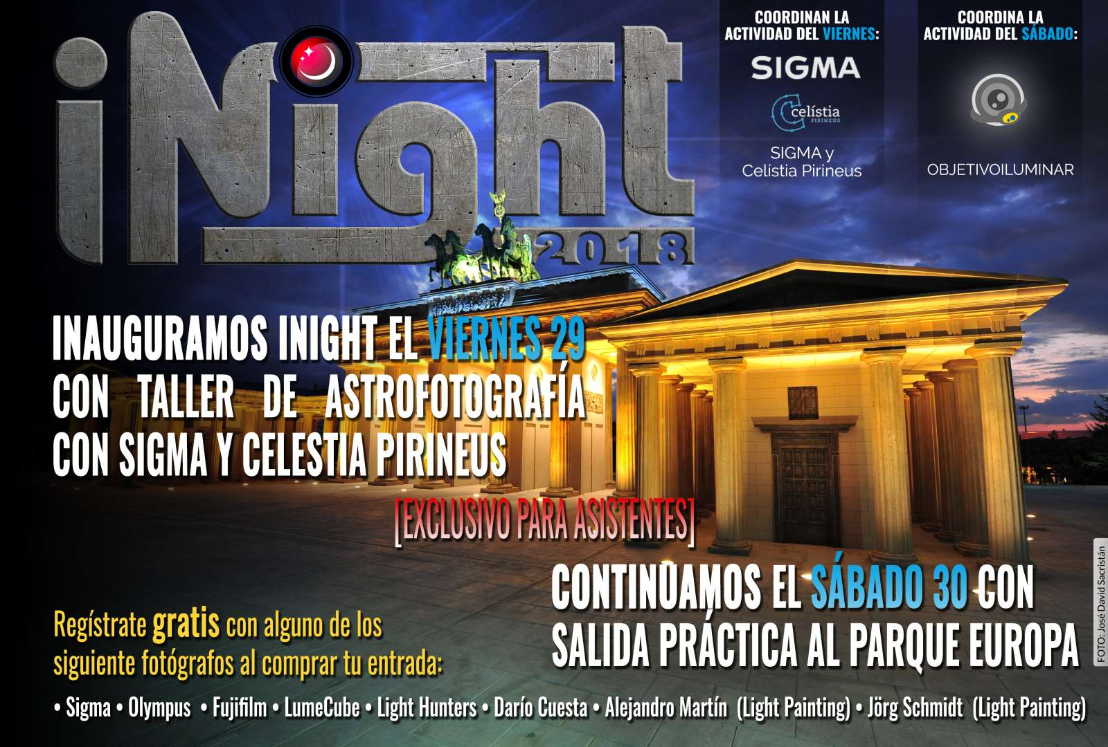 ¡Entradas para iNight 2018 ya disponibles! 1