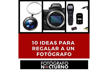 10 regalos fotógrafos