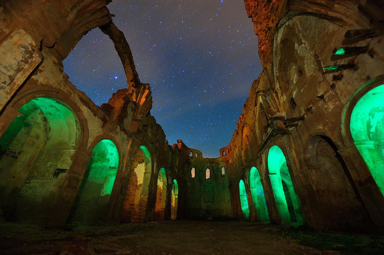 Curso de fotografía nocturna en Belchite – Octubre 2021