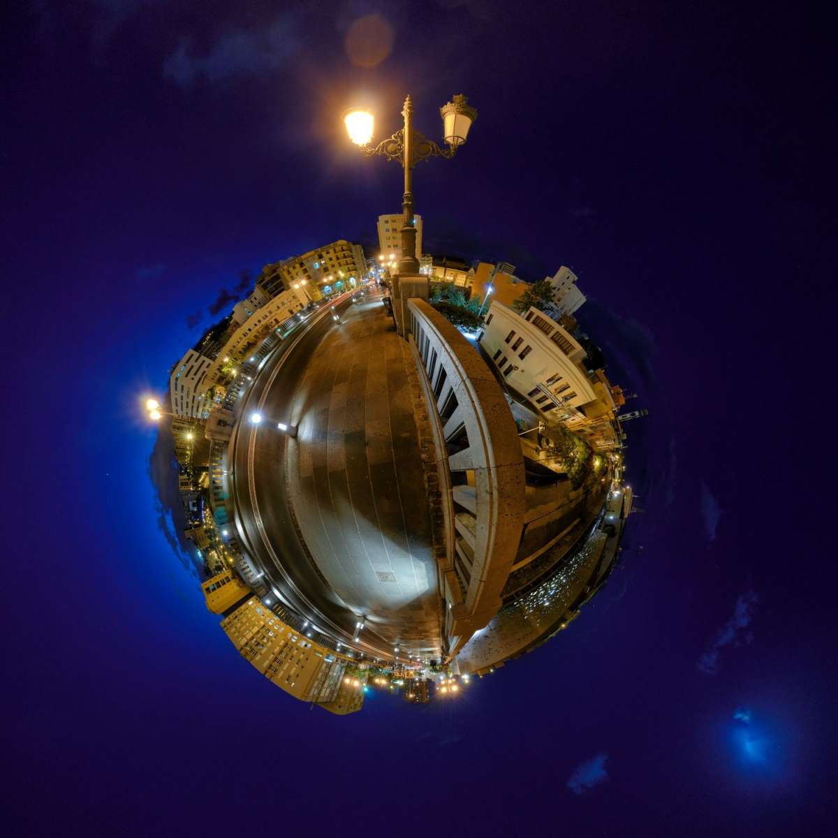 La Laguna Little planet