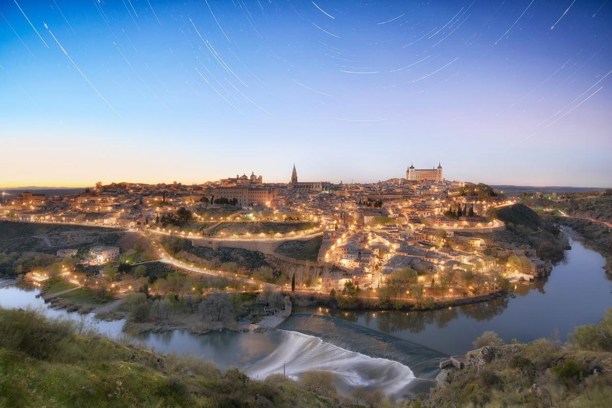 Startrails Toledo