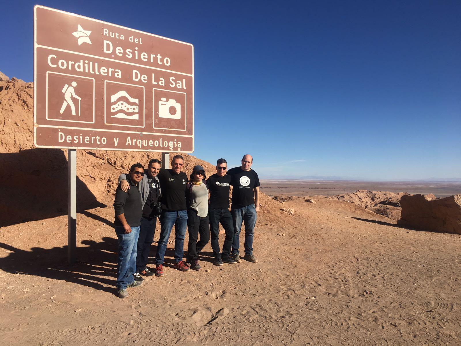 Fotografiando en el desierto de Atacama, Chile. 14