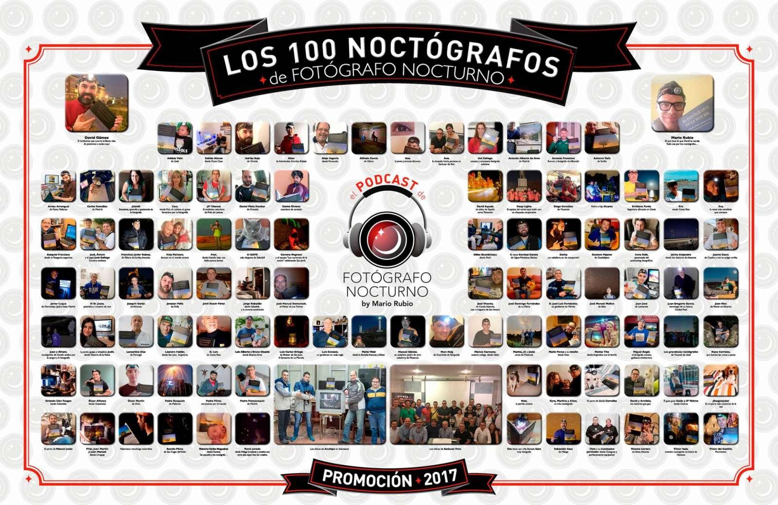 Noctógrafos del Podcast en la red 1